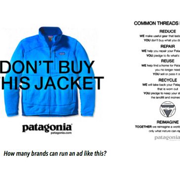 Η Patagonia με μια εξαιρετική διαφήμιση εμπνέει